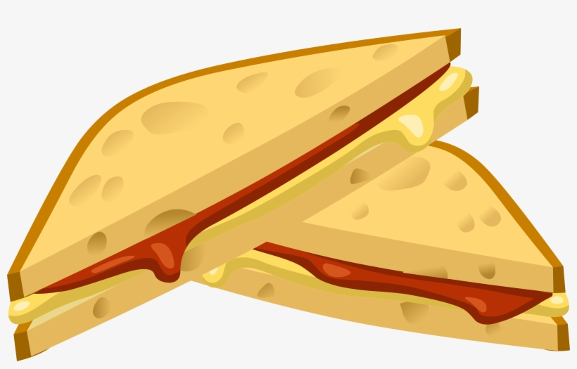 Clipart Food Expensive Grilled Cheese - Grilled Cheese Sandwich Icon, transparent png #682572