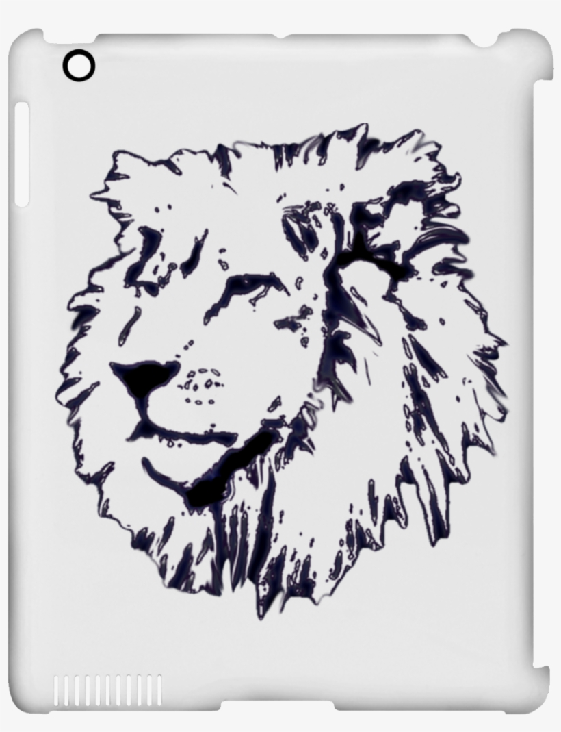 Sepia Drawing Lion Clip Library - Water Bottle Outline, transparent png #683677