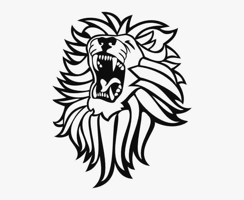 Dessin De Lion 5 Png Lion Roar Png - Roaring Lion Clip Art, transparent png #683817