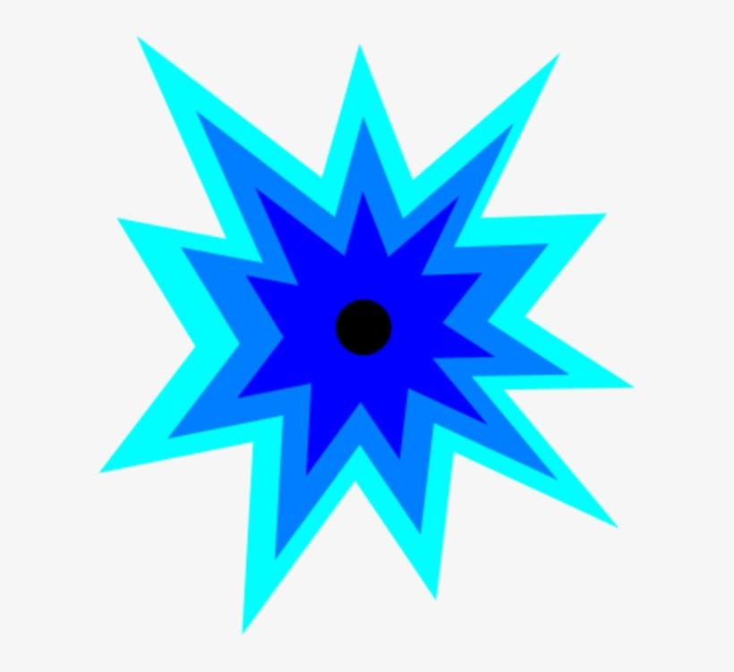 Explosion Clip Art Clipart Clipartbold Clipartcow Image - Blue Explosion Clip Art, transparent png #684828