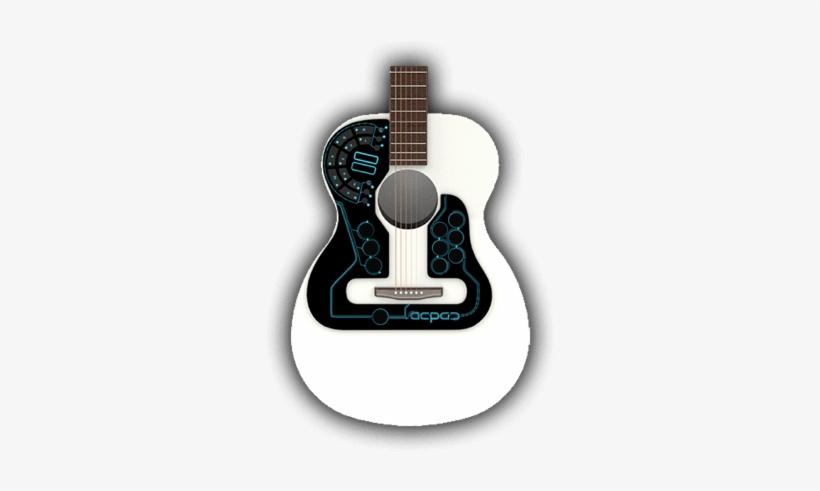 Acpad Thin Midi Controller For Guitar - Wireless Midi Controller For Acoustic Guitar, transparent png #685246