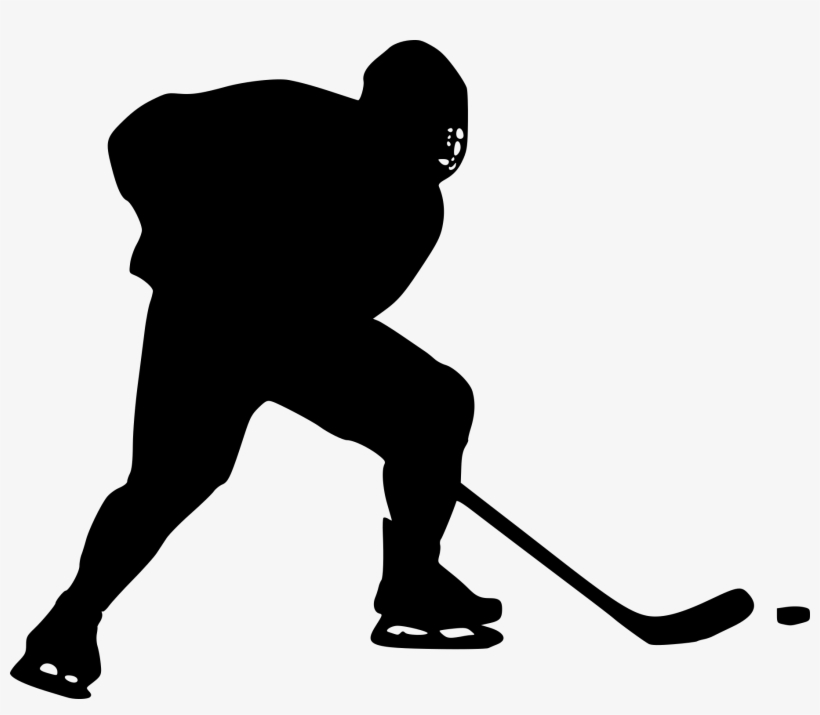 Image Hockey Clipart Black And White - Hockey Clipart, transparent png #685525