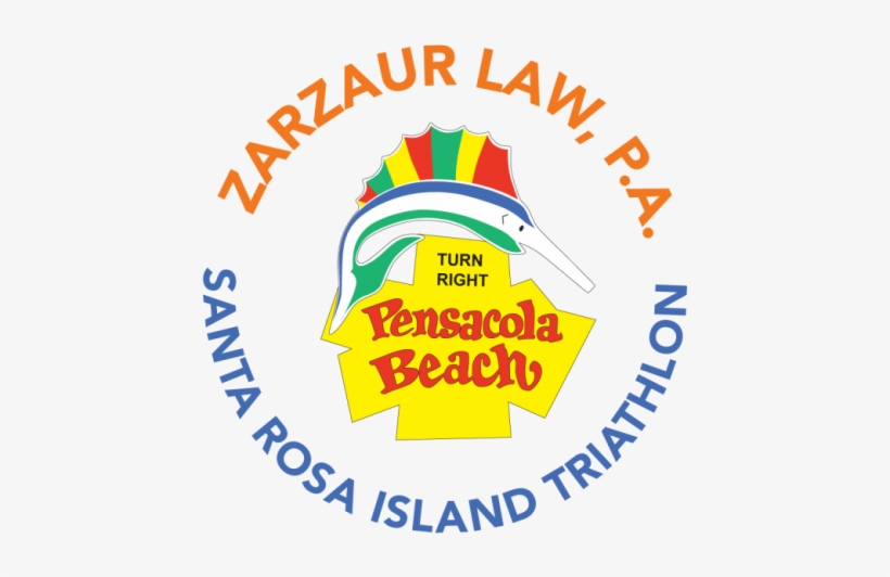 Results For The 2018 Zarzaur Law Santa Rosa Island - Pensacola Beach Sign, Florida Yard Sign, transparent png #685998