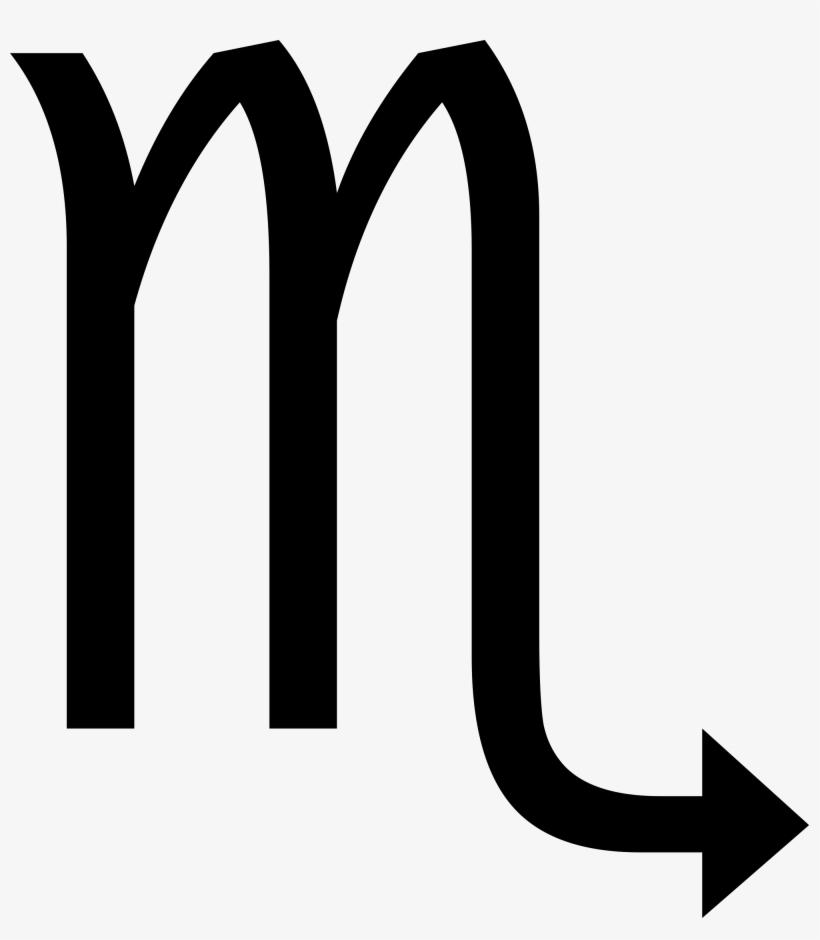 Open In Media Viewerconfiguration - Scorpio Symbol, transparent png #686129