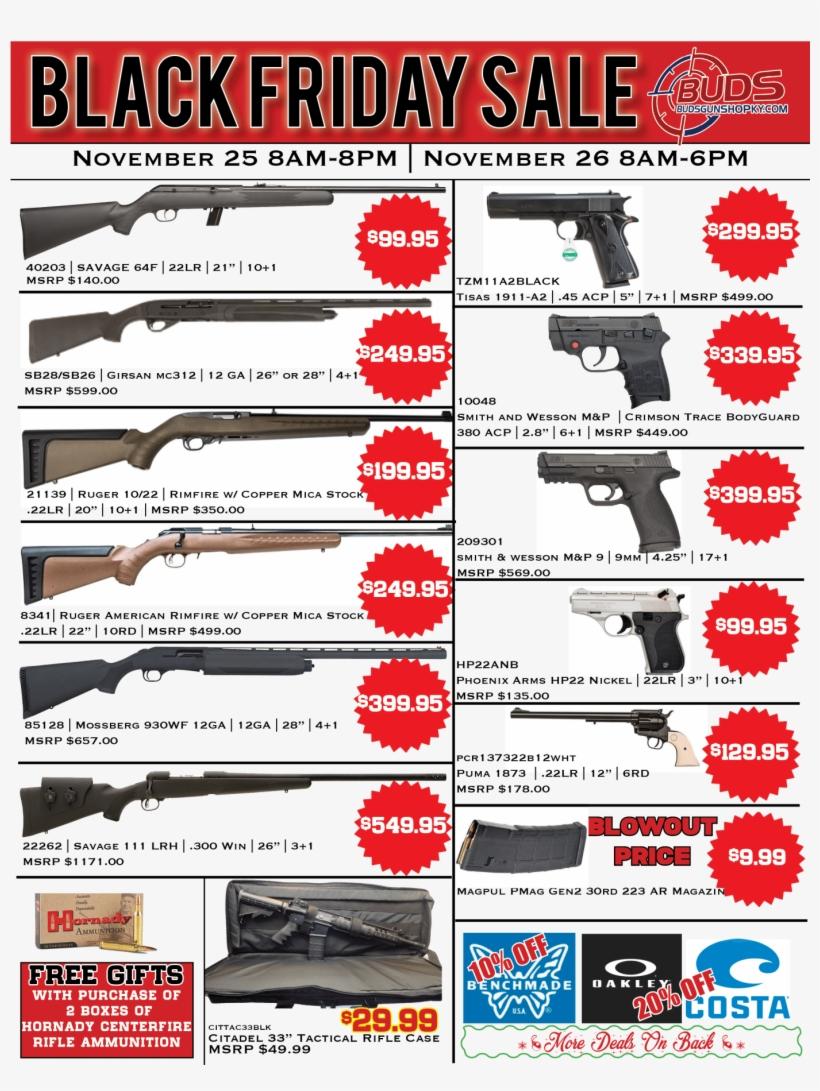 Black Friday Flyer Airsoft Gun Free Transparent Png Download Pngkey