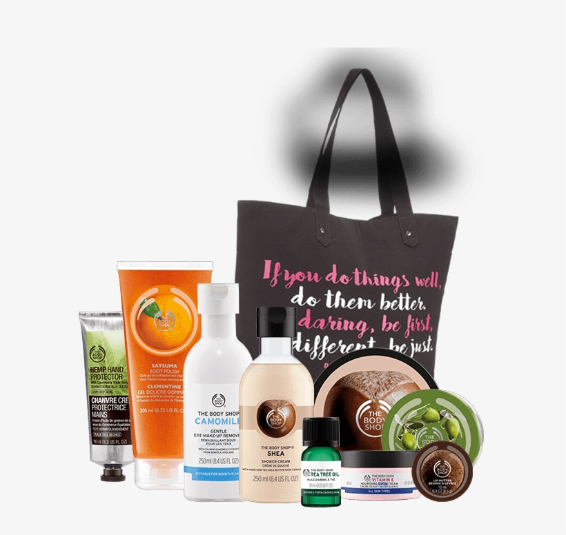 The Body Shop Black Friday 2016 Tote - Black Friday Body Shop Tote Bag, transparent png #686512