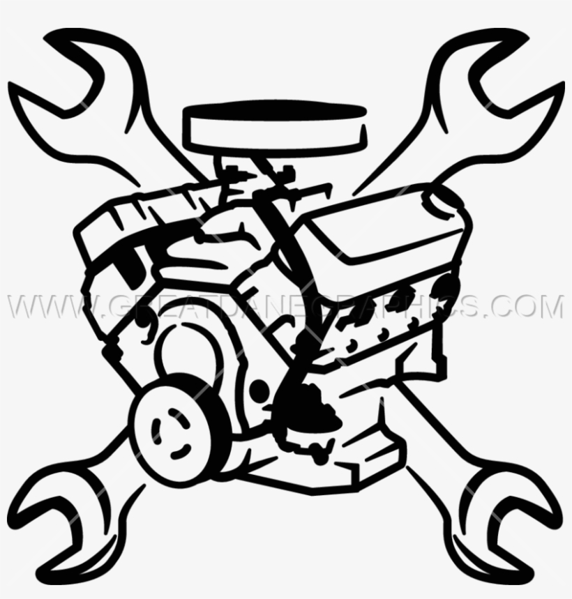 Clipart Car Wrench