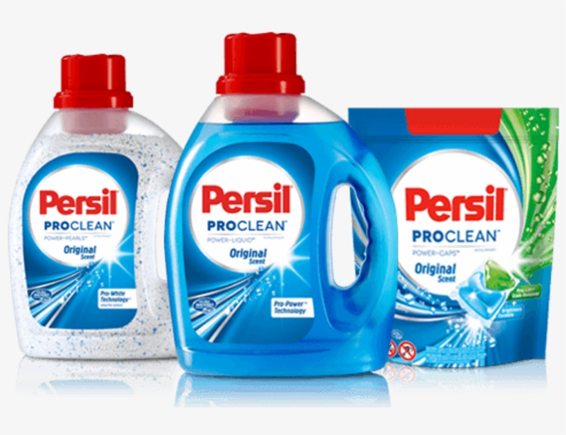 Henkel Cleaning Brand Persil Proclean Ad To Debut During - Persil Pro Clean Laundry Pearls Original, transparent png #686734