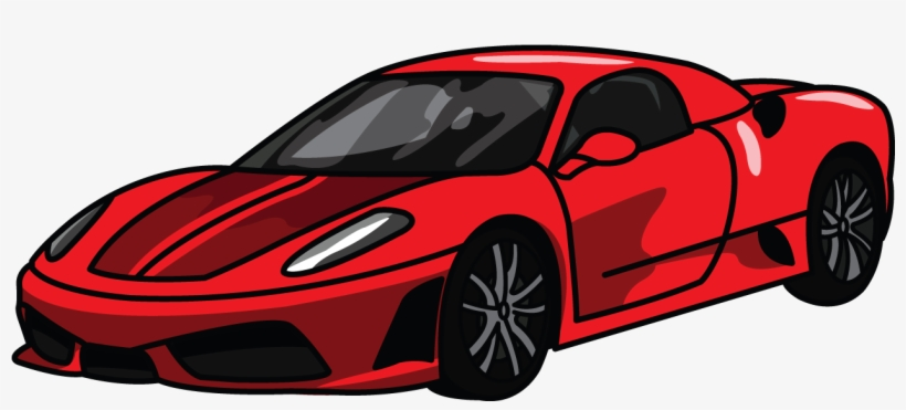 How To Draw Ferrari 360, Step By Step Drawing Tutorial