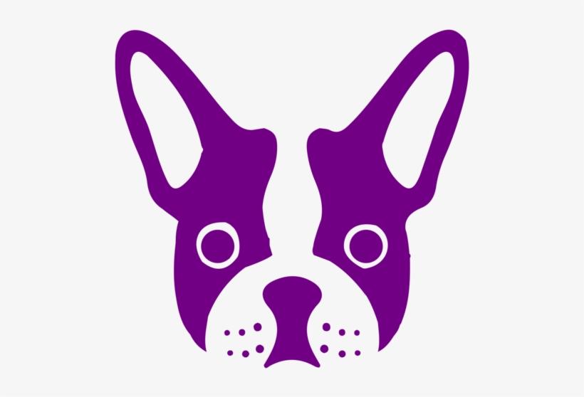 Bulldog Clipart Purple Cute Borders Bulldog Brooch Dogs Brooches