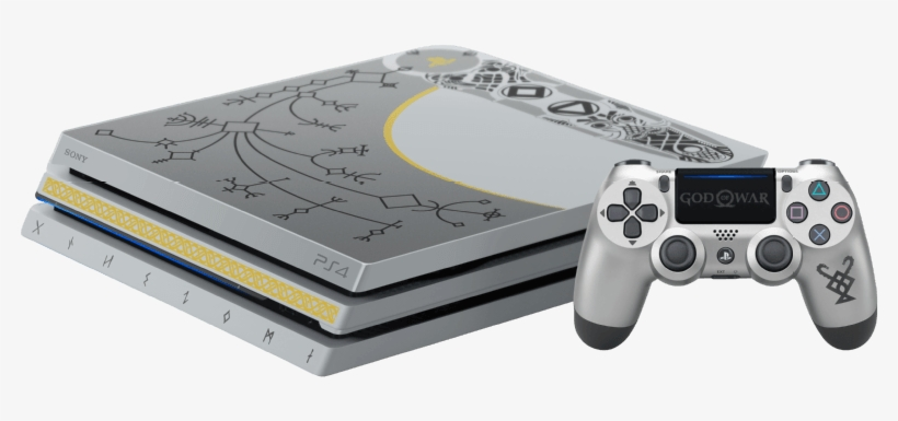 Sony Playstation®4 Pro 1tb Limited Edition God Of War - God Of War Ps4 Pro, transparent png #688934