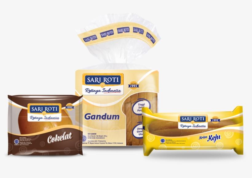 Sari Roti New Branding Pack - Free Transparent PNG Download - PNGkey