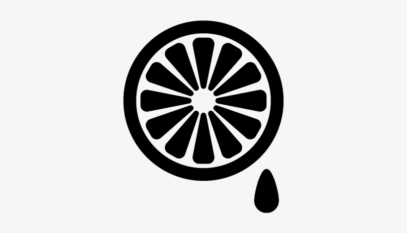 Lemon Slice And A Drop Vector - First Order Logo Star Wars, transparent png #690242