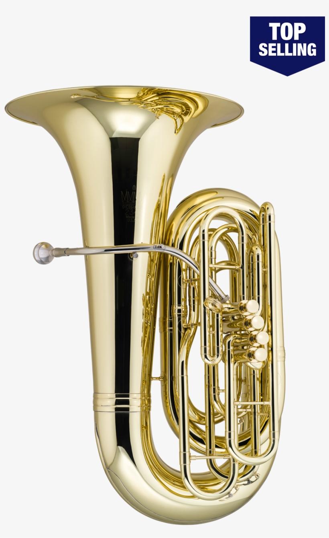 King Step-up Model 2341w 4 Valve Tuba - King 2341w Series 4-valve 4/4 Bbb Tuba, transparent png #691298