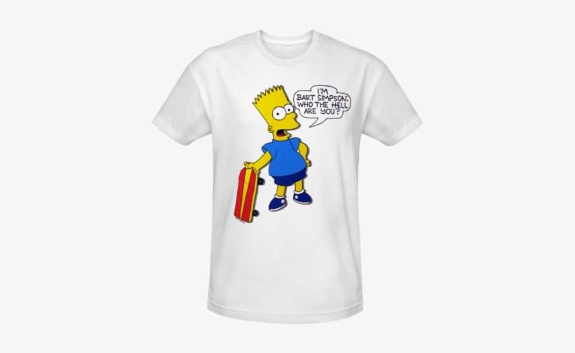 Simpsons I'm Bart Simpson Classic T-shirt - I M Bart Simpson T Shirt, transparent png #691506