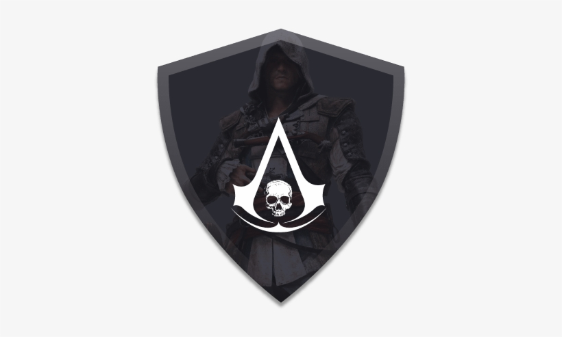 Assassins Creed Ac Black Flag Logo Free Transparent Png