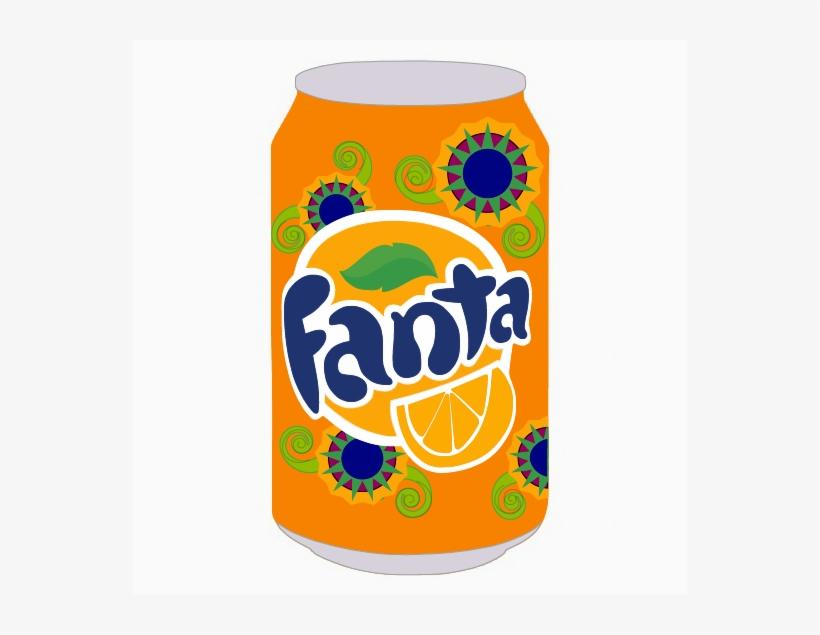 Fanta 4 Fanta 3 - Fanta Orange Soda 16 Oz Plastic Bottle, transparent png #691956