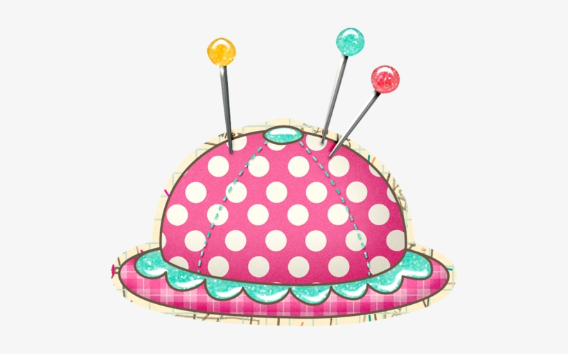 """Tborges Sewmamasew Pincushion - Sewing Square Sticker 3"""" X 3"""", transparent png #692385"""