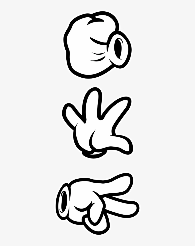 Mickey Mouse Hands Dope Wallpaper Dope Mickey Mouse - Rock Paper Scissors Mickey Mouse Hands,