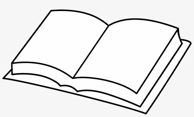 Hd Overview Open Book Clip Art Books Clipart Coloring Page Free