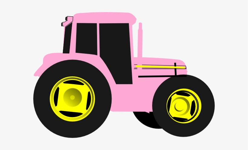 John Deere Green Tractor Clipart Free Images 2 Png Pink Tractor