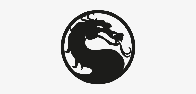Mortal Kombat Vector Logo Mortal Kombat Logo Svg Free Transparent Png Download Pngkey