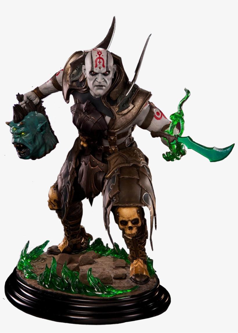 Mortal Kombat X - Mortal Kombat X - Quan Chi 1:4 Scale Statue, transparent png #695464