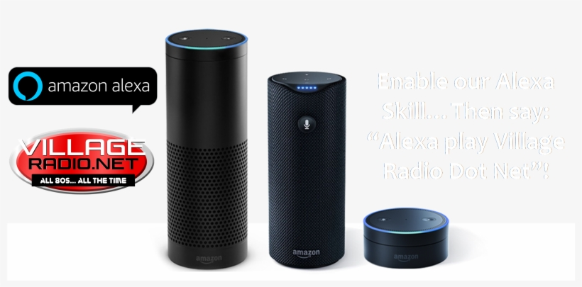 "Enable Our Skill By Saying ""alexa, Enable Village Radio"