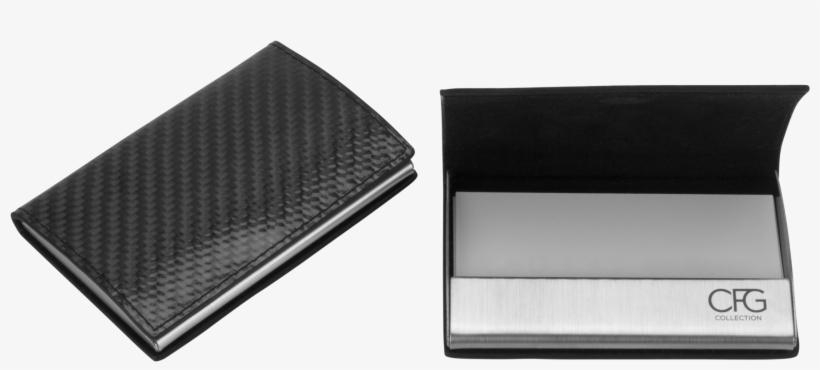 Graphic Transparent Stock Cards Holder For Free Download - Cfg Collection Carbon Fiber Business Card Holder, transparent png #697322