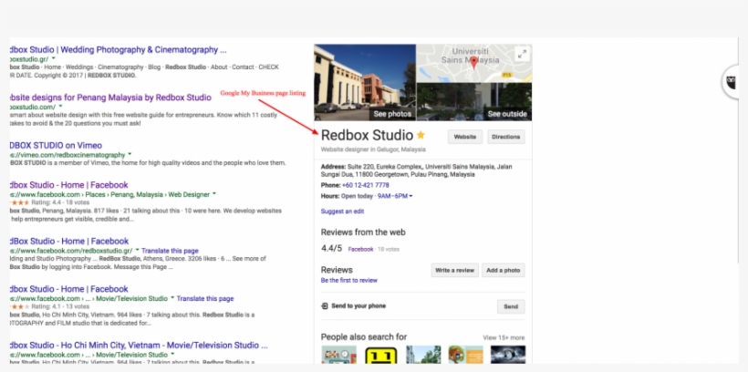 Google My Business Page Example - Google My Business Posts Examples, transparent png #697772