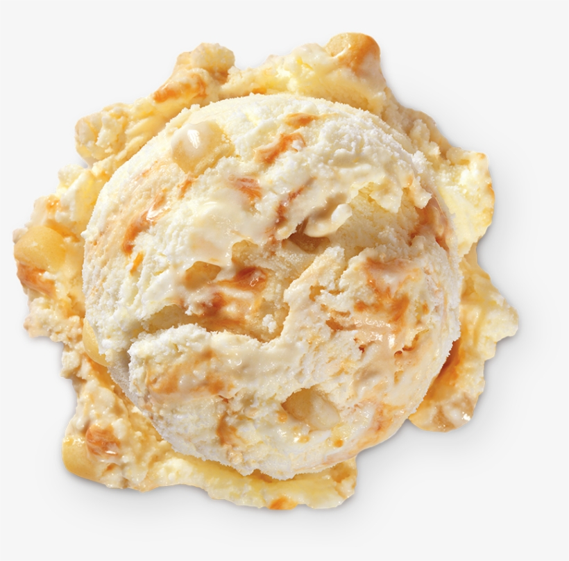 Homemade Brand Butterscotch Cookie Ice Cream Scoop - Butterscotch Ice Cream Cookies, transparent png #697977
