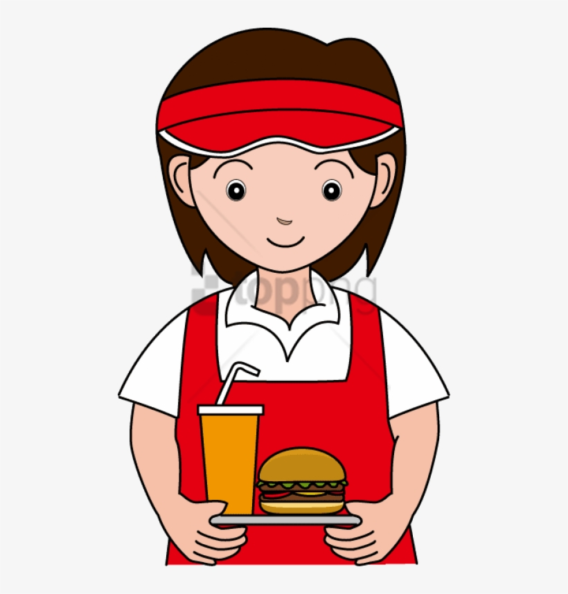 Clipart Library Stock Food - Anunt Angajare Model Fast Food, transparent png #698235