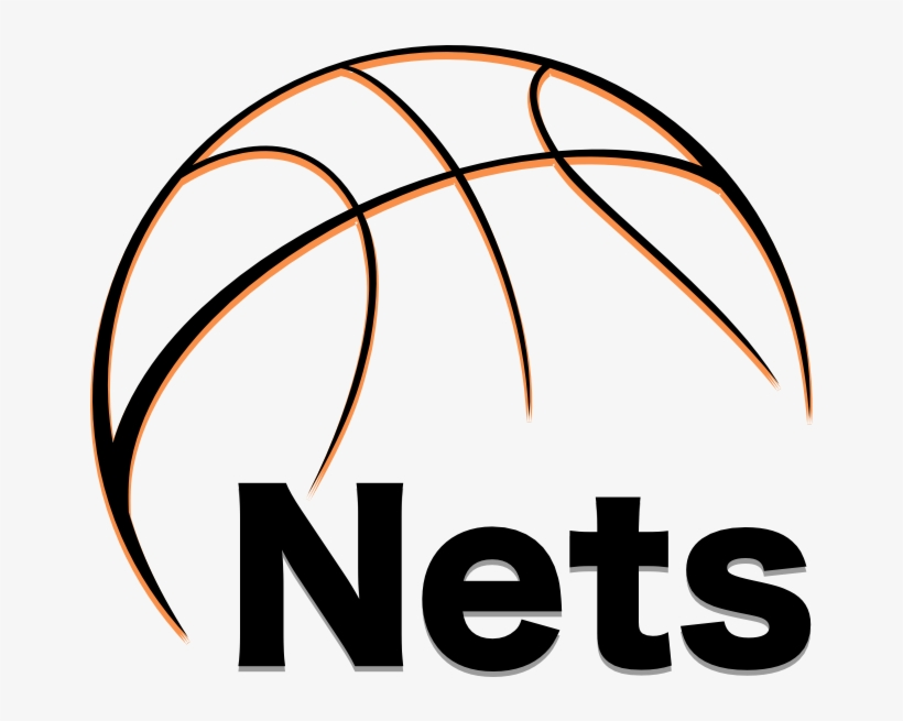 The Brooklyn Nets - Vector Basketball, transparent png #698519