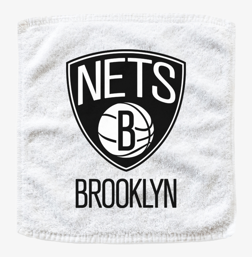 Custom Brooklyn Nets Basketball Rally Towels - New Jersey Nets Nba Decal, transparent png #698668