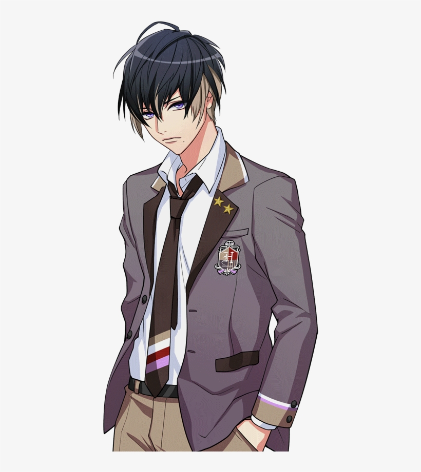 File Hanasaki Private Academy - Anime School Boy Png, transparent png #699142