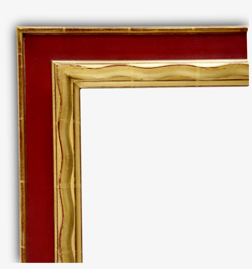 Hand Carved Gold Gilded Frame For Mirror Free Transparent Png Download Pngkey