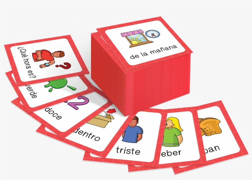 Calico Spanish Flashcards Level - Free Transparent PNG