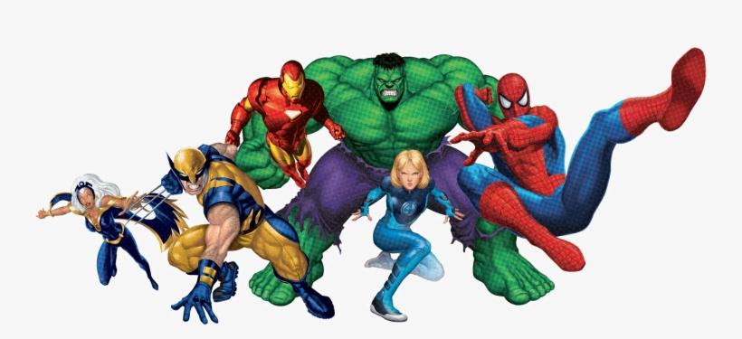 About Us Superheroes Gears - Marvel Super Heroes Jpg, transparent png #70255