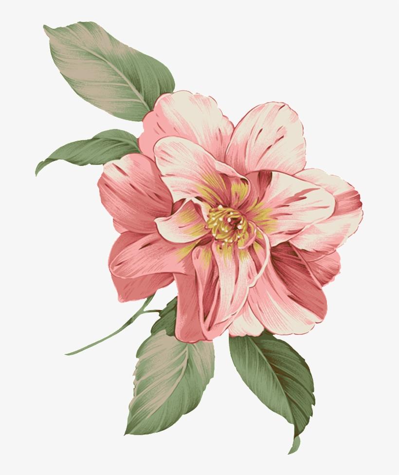 Flower Bucket Png Flores Para Cartao De Visita Em Png Free