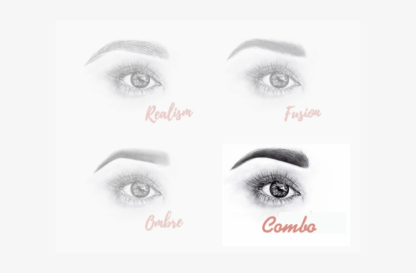 Combo Brows - Aesthetic Eyebrow Microblading Of Austin, transparent png #72036