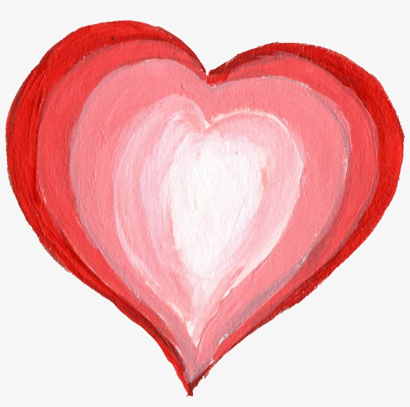 Free Download - Heart Paint Png, transparent png #72352