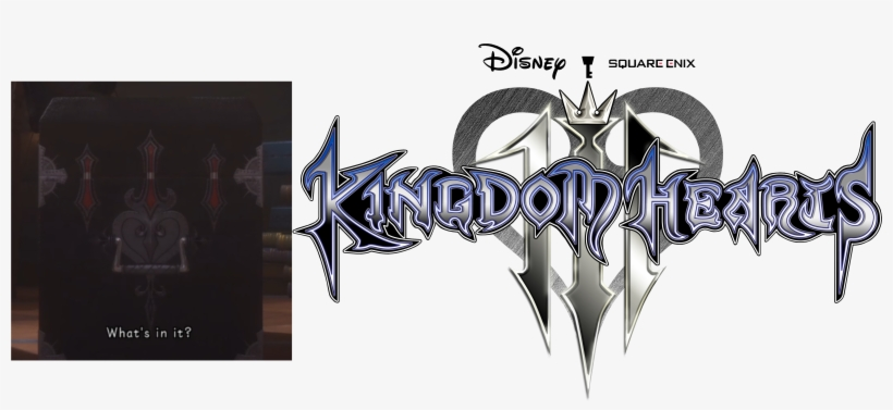 8] [media] The 3 Lines On The Side Of The Box Sort - Kingdom Hearts Iii Logo Png, transparent png #72806