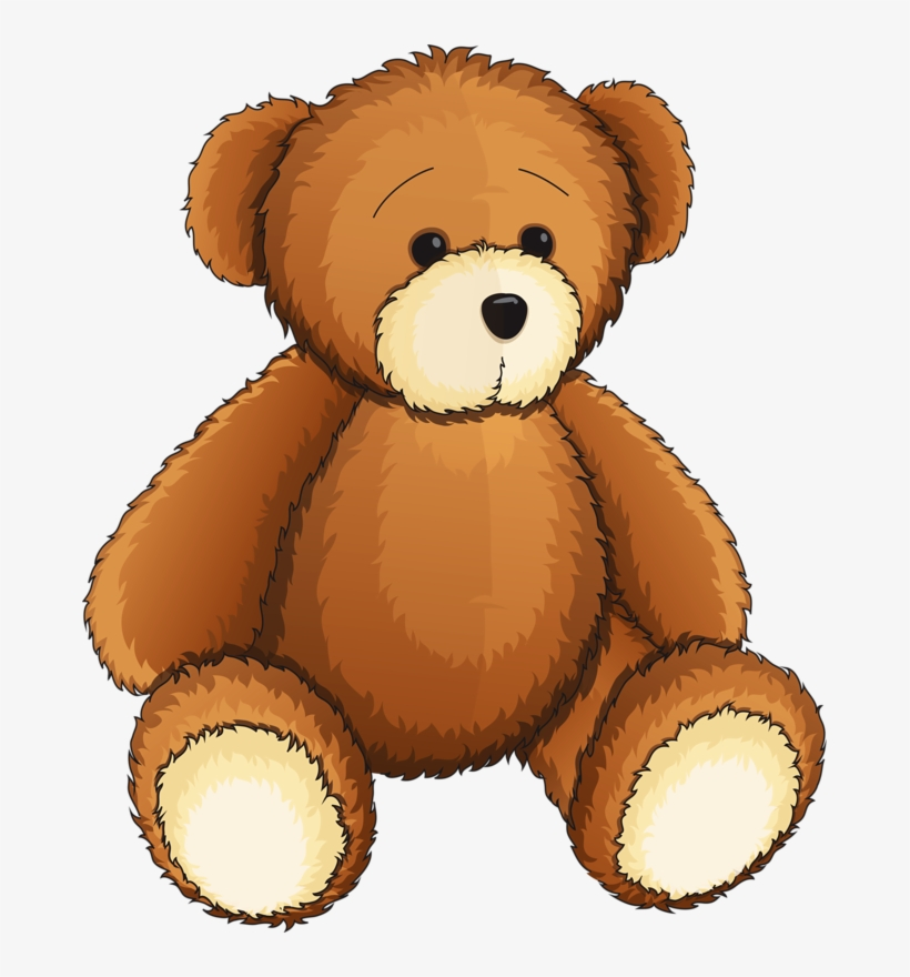 Teddy Clipart Toy - Teddy Bear Clipart Png - Free ...