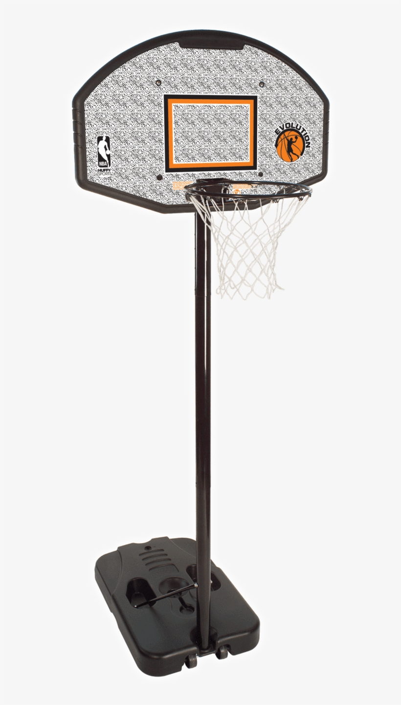 """Spalding 44"""" Eco-composite Portable Basketball Hoop - Indoor Mini Basketball Hoop With Stand, transparent png #72872"""