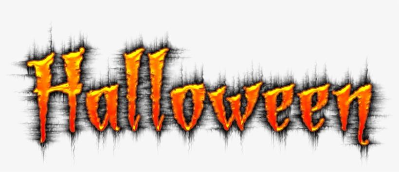 Halloween Word Hayride Clipart - Halloween Word Art Png, transparent png #73150
