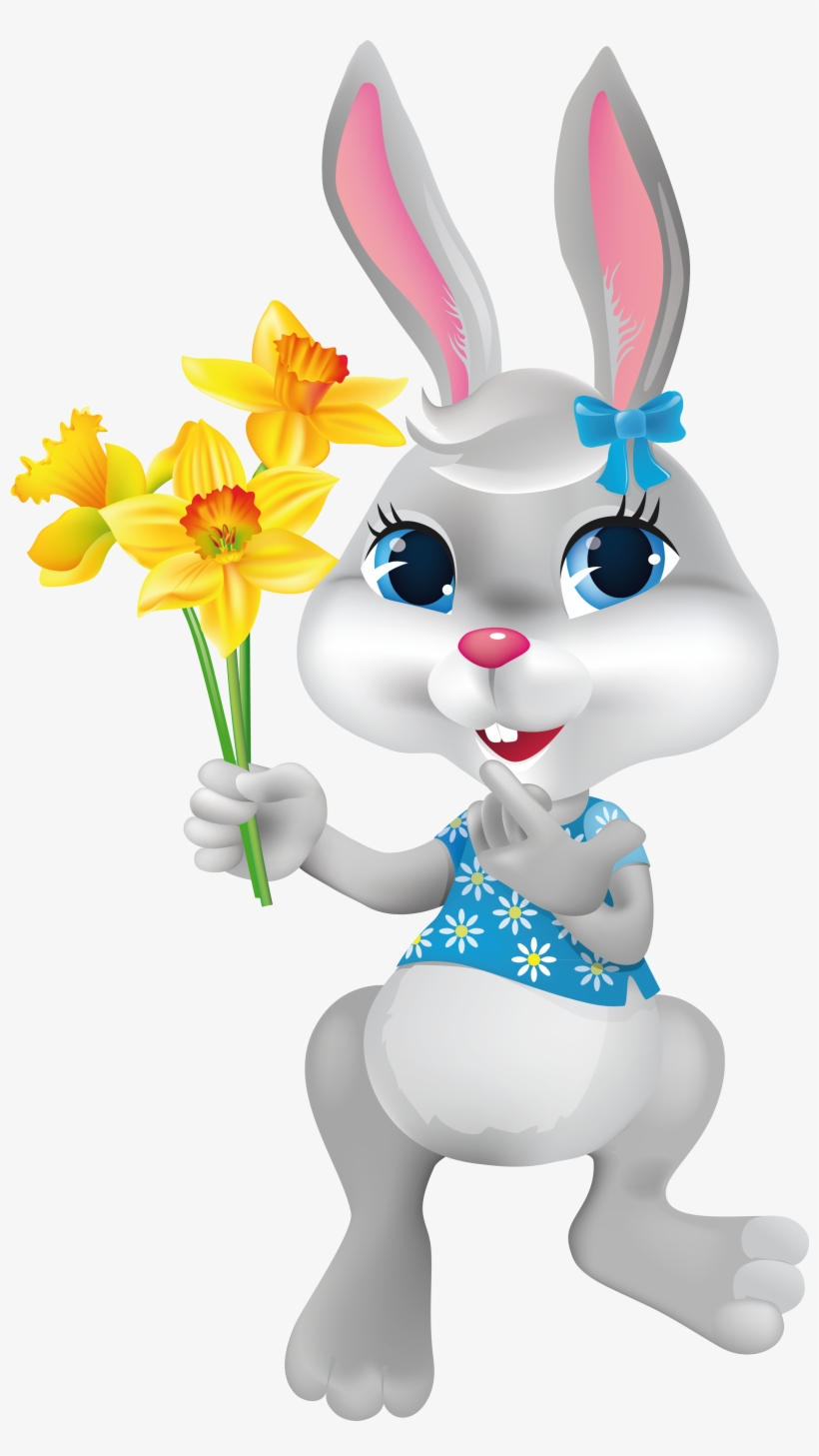 Easter Bunny Transparent - Happy Easter Crafts Clipart, transparent png #73481