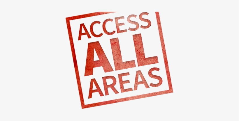 Access All Areas - Access All Areas Stamp, transparent png #73882