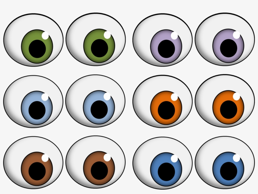 Best Photos Of Printable Googly Eyes Printable Eyes Free Transparent Png Download Pngkey