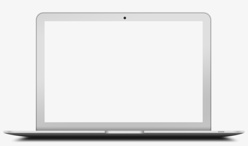Blank Computer Screen Png - Mac Book Empty Screen - Free ...