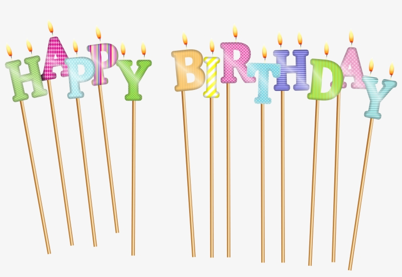 Candles Clipart Happy Birthday